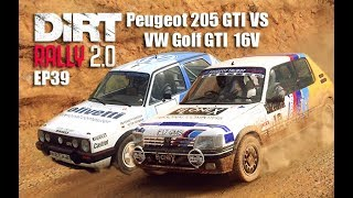 Dirt rally 2.0 - Peugeot 205 GTI vs VW Golf GTI - Which is faster ? - EP 39