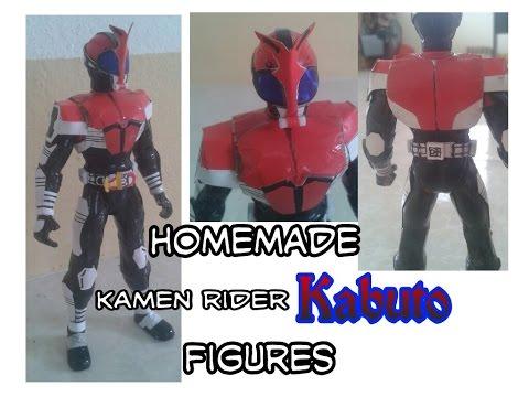 自家製仮面ライダーカブトフィギュア - homemade kamen rider KABUTO FIGURE - kamen rider KABUTO