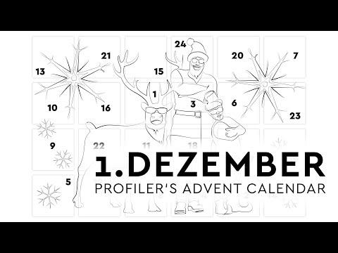 Profiler's Advent Calendar - 1.Dezember