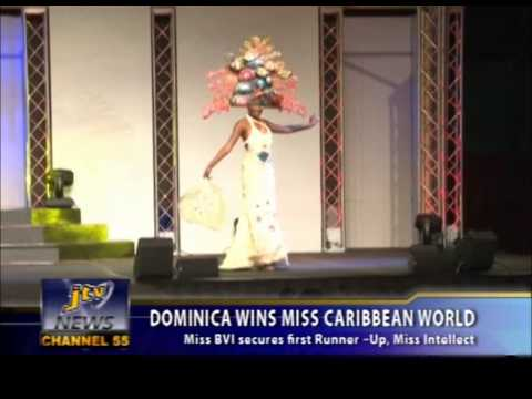 DOMINICA WINS MISS CARIBBEAN WORLD