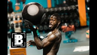 Antonio Brown Trains Late Night In Oakland (Full Workout)