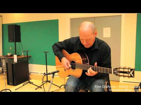 Finn Olafsson / Part 1 / Kehlet Guitars / Vintage Guitar Show Svendborg 2011 / Vintage&RareTV