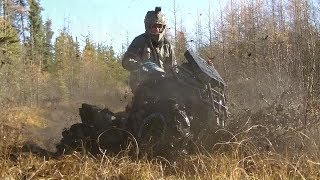 Northern Sask Can-am BBK NOS Muskeg Extreme riding