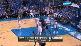 Memphis Grizzlies vs Oklahoma City Thunder Game 1   April 19, 2014   NBA Playoffs 2014