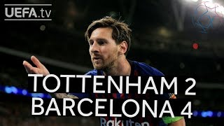 TOTTENHAM 2-4 BARCELONA UCL HIGHLIGHTS