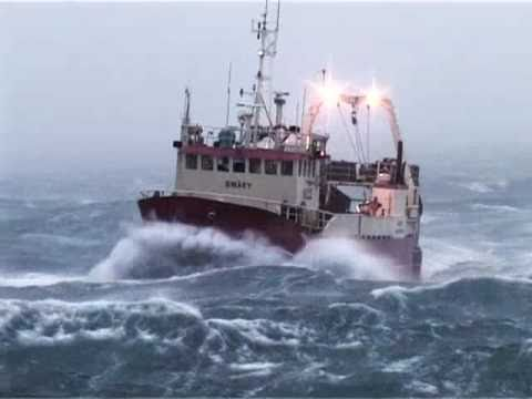 Rough Seas Iceland uncut