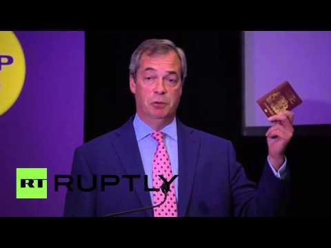 UK: UKIP's Farage warns of a 'Turkish-dominated Europe'