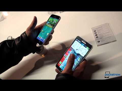 Samsung Galaxy S5 vs Samsung Galaxy Note 3 - MWC 2014