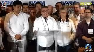 ÚLTIMA HORA: MUD rechaza resultados de Elecciones Regionales en Venezuela 2017