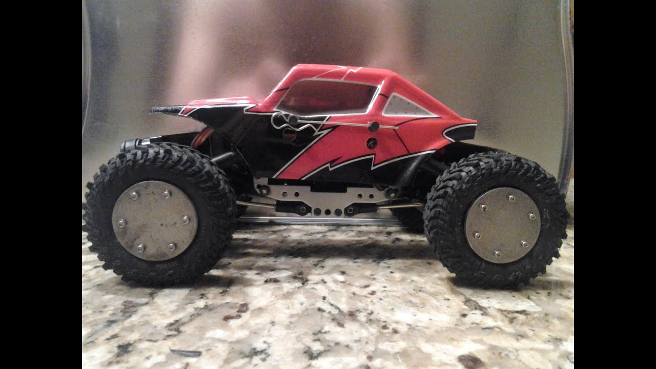 redcat racing 1 24 sumo crawler micro rc with mods. Black Bedroom Furniture Sets. Home Design Ideas