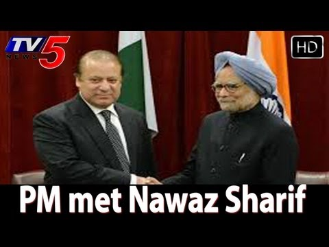 Manmohan Singh, Nawaz Sharif meeting a  zero outcome meet  - TV5