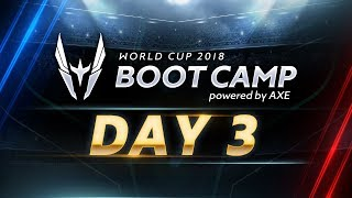 RoV : World Cup Bootcamp 2018 (Group Stage) Day 3