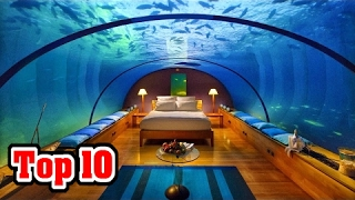 10 MOST UNUSUAL Hotels In North America