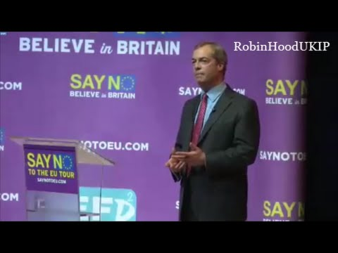 Nigel Farage speech after Islamic attacks in Paris