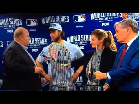Chevy Guy 2014 World Series MVP Award Madison Bumgarner