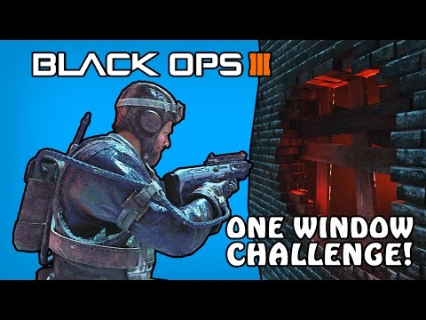 Black Ops 3 Custom Zombies Funny Moments - One Window Challenge! (BO3 Mod Tool Funny Moments)