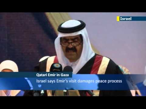 Qatari Emir warmly received by Hamas leadership