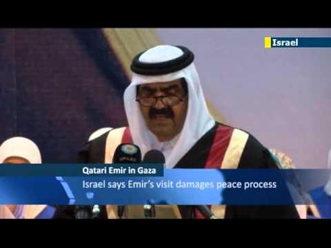 Qatari Emir warmly received by Hamas leadership
