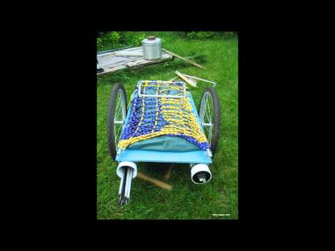 I Built A Homemade Camper Trailer For My Tricycle