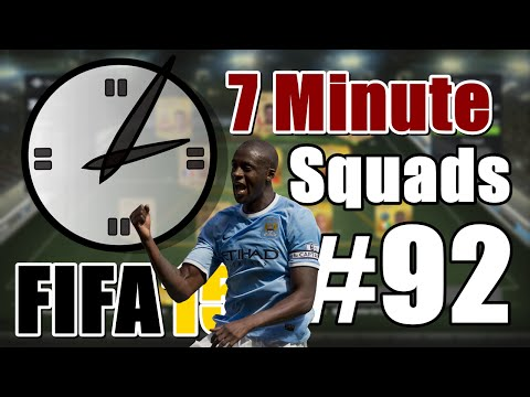 7 Minute Squads #92 - Yaya Touré Squad! - Next Gen FIFA 15 Ultimate Team