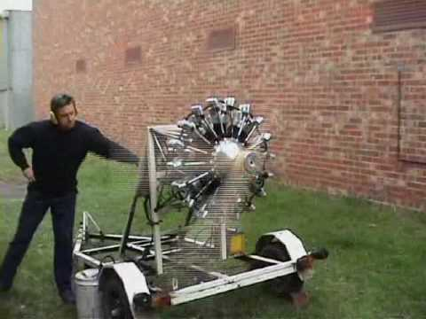 Rotec Radial Engine 150hp