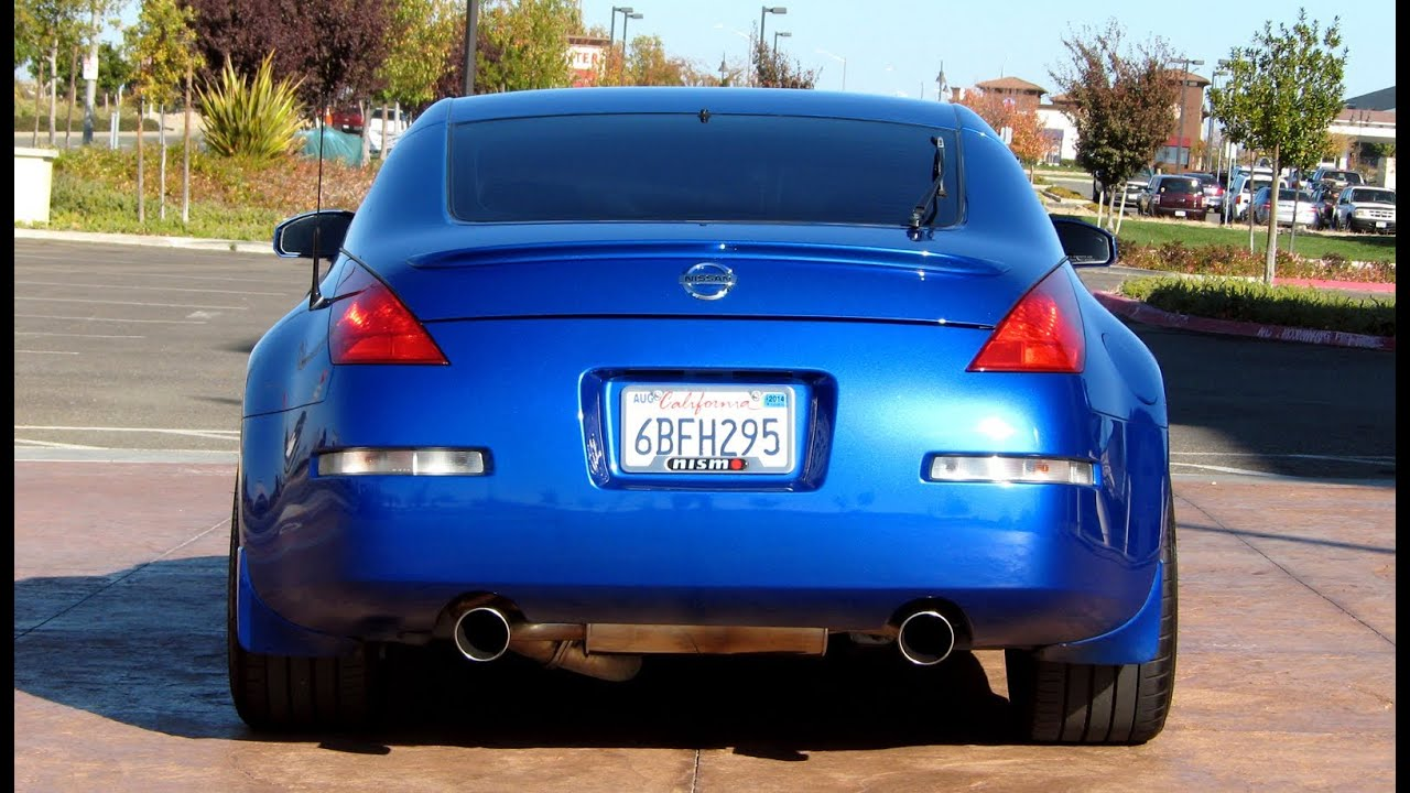 Nissan 350z Single Exhaust Nissan 350z Review Exhaust