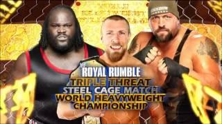 WWE: Royal Rumble 2012 Full Match Card [HD]