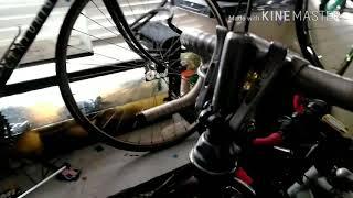 Old vintage Peugeot carbolite road bike review.