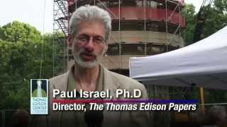 Thomas Edison's Electric Light Bulb Band Video - Centennial Plaque Dedication