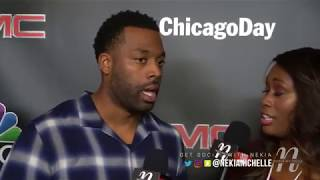 LaRoyce Hawkins Reveals Need For Love Interest On Chicago PD & Loves Showing Silly Side