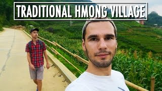 TRADITIONAL HMONG VILLAGE - Cat Cat Village, SaPa, Vietnam | On the way to TV