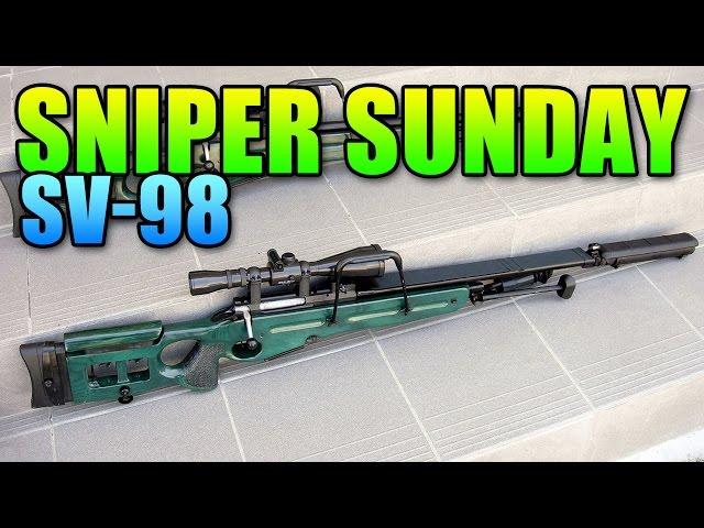 Sniper Sunday SV-98 & G18 Recon Combo | Battlefield 4 Bolt Action Gameplay
