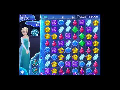 Disney Frozen Free Fall - Level 68 [Gameplay Walkthrough]