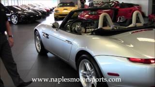 2000 BMW Z8 Silver-5k miles.wmv