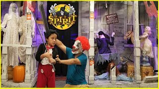 SPIRIT HALLOWEEN STORE TOUR 2018 | Kids Shopping For Halloween  Costumes |Jai Bista Show