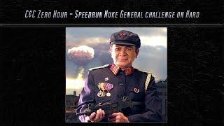 [C&C Zero Hour] Speedrun - Nuke Challenge on Hard mode