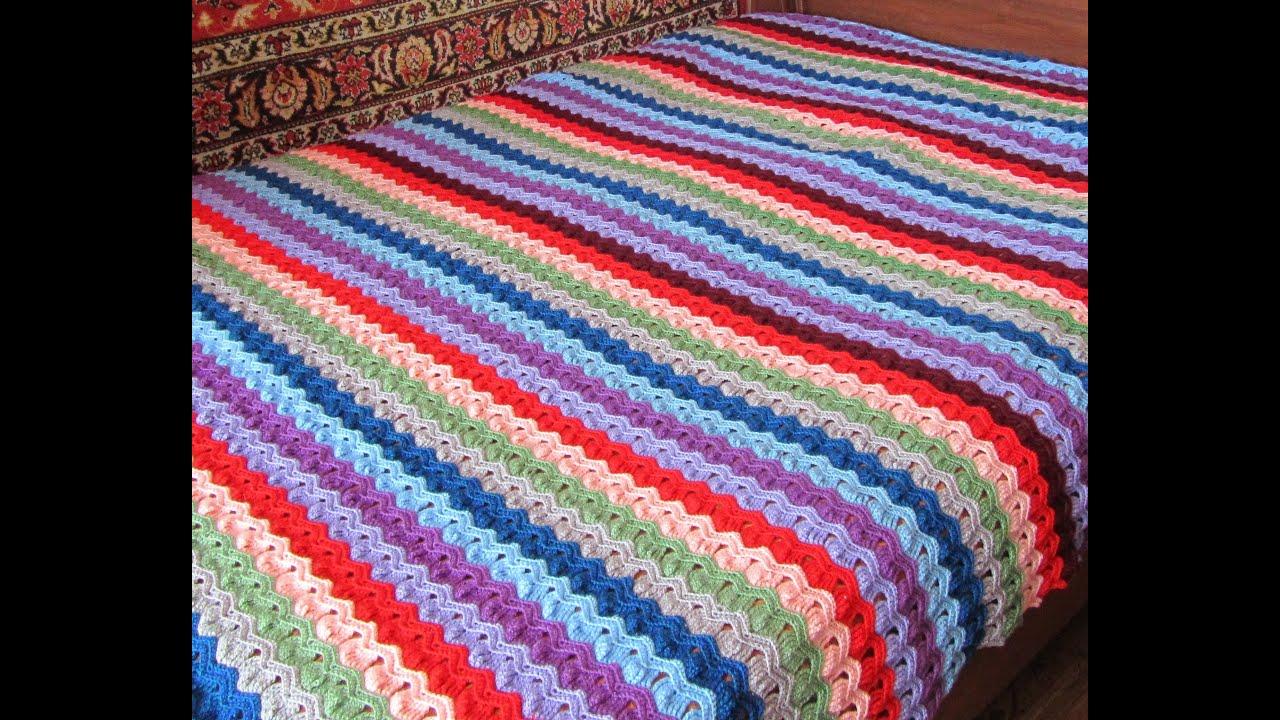 Пряжи для вязания пледов крючком 429