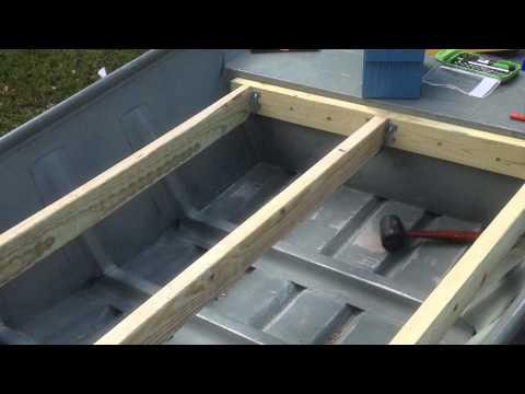 12 Foot Jon Boat Casting Deck Modification How To Save