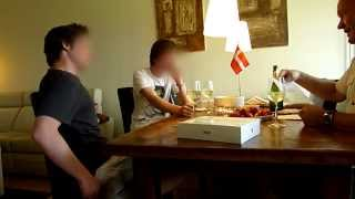 Dad tells his sons that he have won 15m Danish Kroner (2.7 million dollars)