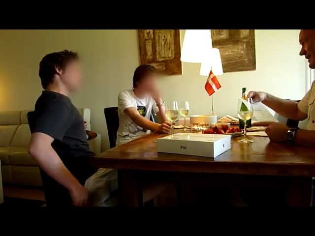Dad tells his sons that he have won 15m Danish Kroner (2.7 million dollars)