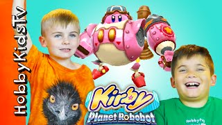 Play Kirby Planet Robobot Video Game with HobbyKidsTV