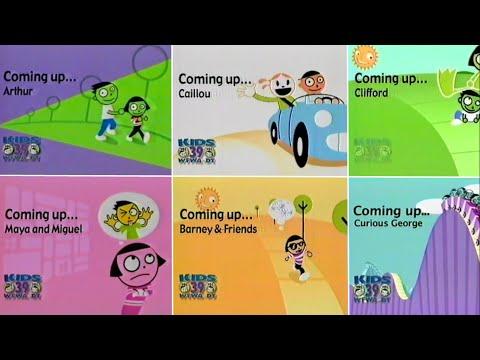 PBS Kids Schedule Bumper Compilation (2004-2010 WFWA)