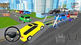Transporter Games Multistory Car Transport (by LagFly) Android Gameplay #2 [HD]