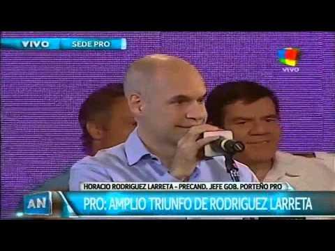 Rodríguez Larreta: Ganó otra vez el cambio