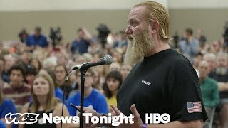 Gun Rights Supporters Are Tailing Parkland Students On Their Gun Control Tour (HBO)