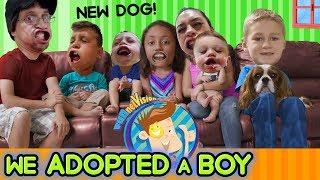 WE ADOPTED A BOY & GOT A NEW DOG! FUNnel V Fam Vlog HUGE ANNOUNCEMENT