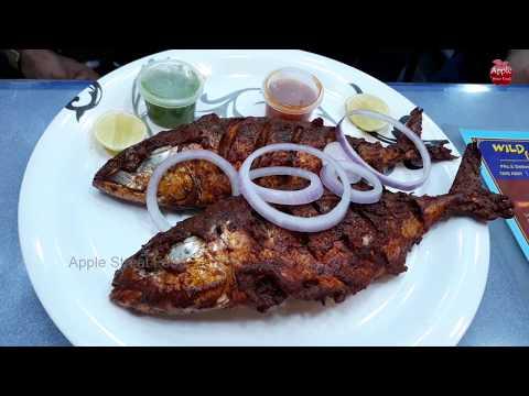 #Pune Sea Fish Fry || wild food restaurnt || Apple Street Food