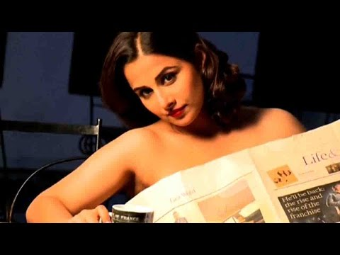 Vidya Balan | Dabboo Ratnani's Calendar 2015 | Making video