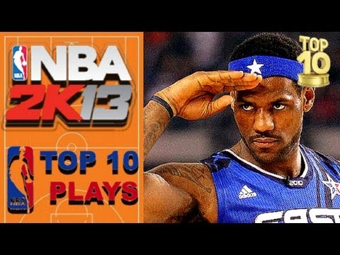 NBA 2K13 TOP 10 CROSSOVERS of the WEEK vol. 4 starring LeBron James