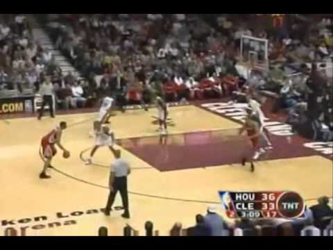 Tracy McGrady 34 pts Vs Cleveland Cavaliers (1/5/06)